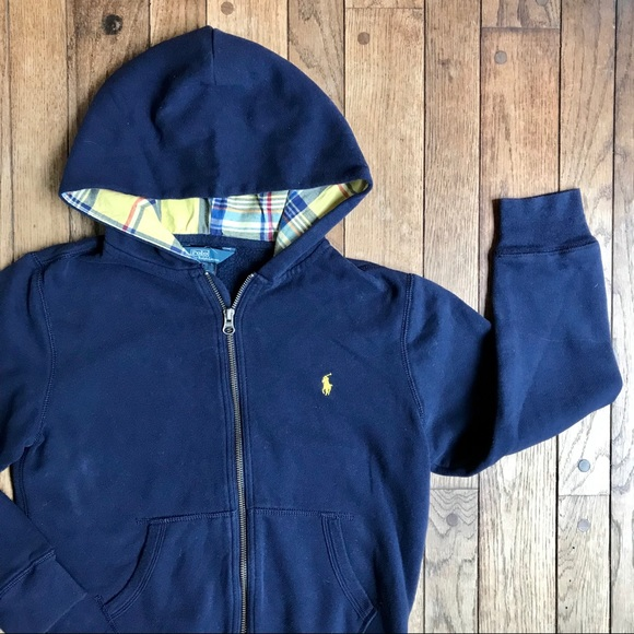 Polo by Ralph Lauren Other - Polo Ralph Lauren Blue Zip Hoodie Sweatshirt  *J23